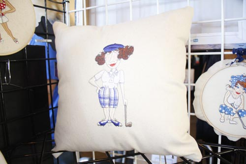 Hand Embroidery Custom Pillow